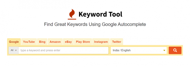 Keyword Tool - Overview