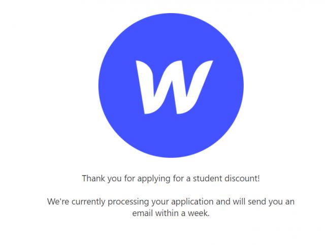Applying Student Discount