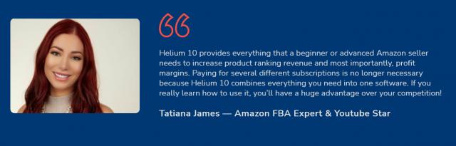 Helium10 - Testimonials