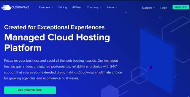 Cloudways - Official Page