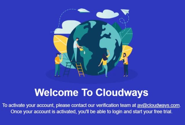 Cloudways Verification Code